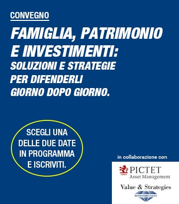 Convegni Pictet e Value&Strategies
